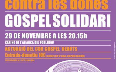 """El 29 de noviembre """"in via""""  canta Gospel en Poblenou"""