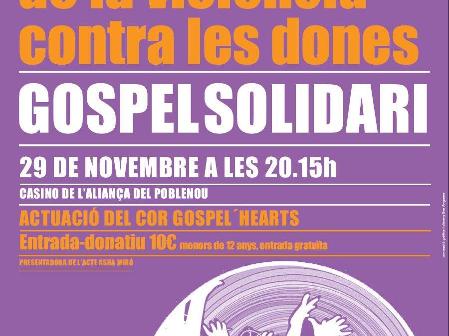"""El dia 29 de novembre l'Associació  """"in via""""  canta Gospel al Poblenou"""