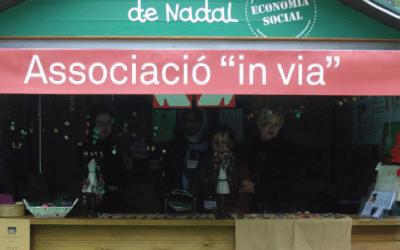 Feria solidaria de navidad  en los Jardinets de Gràcia