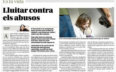 """""""In via"""" i la lluita contra els abusos al diari Regió 7"""