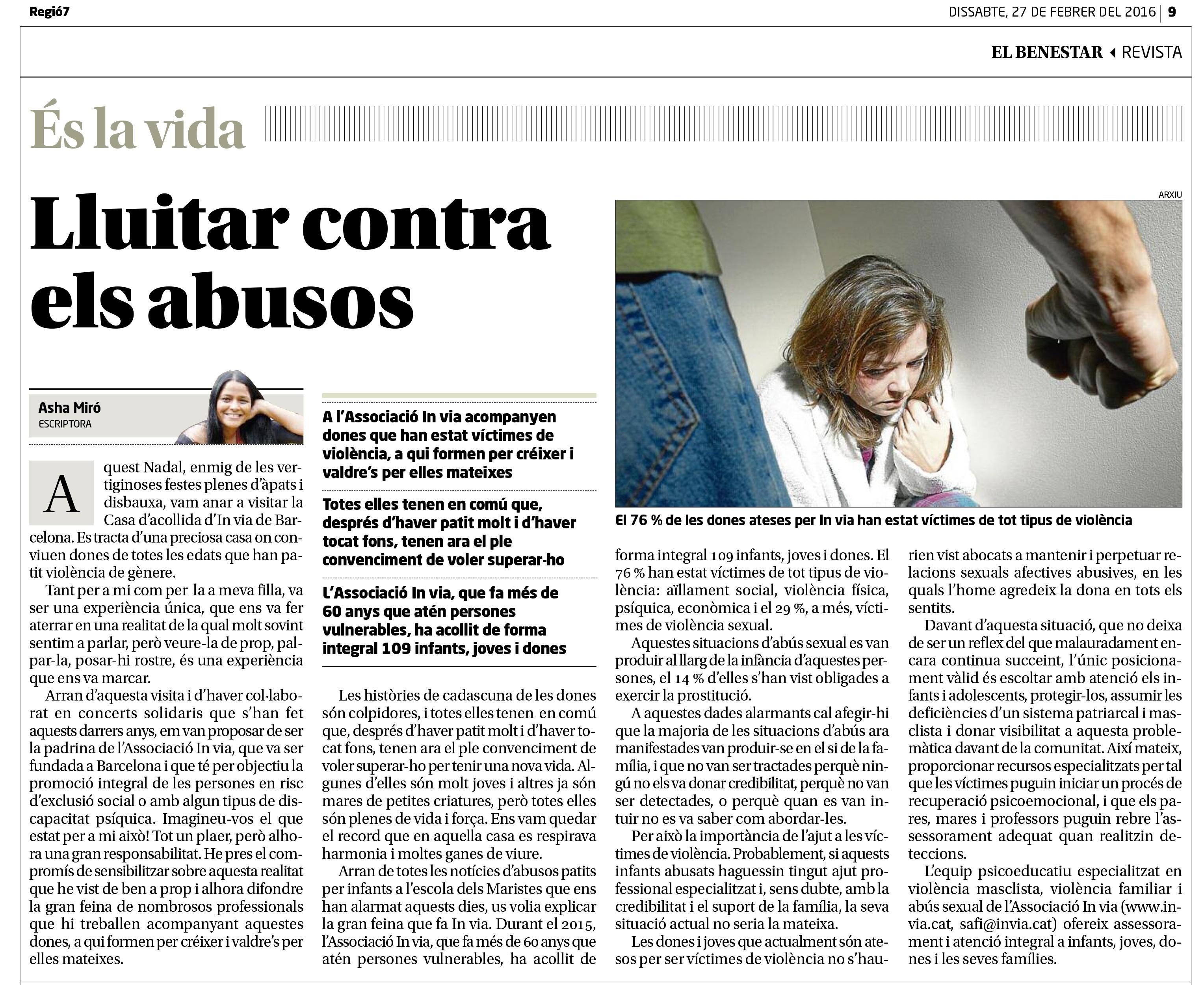 Lluitar contra els abusos