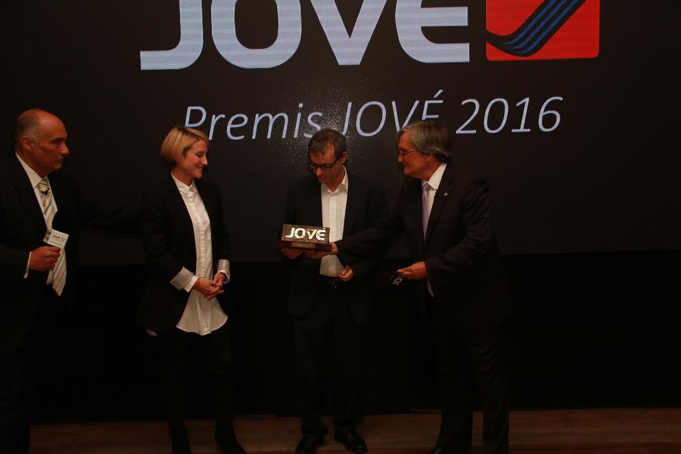 El Programa LÀBORA rep el Premi JOVÉ per la seva tasca social