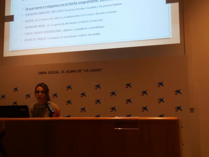 """""""in via"""" participa al 1er Congrés Internacional """"d'infància, pobresa i èxit educatiu"""""""