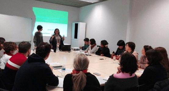 LÀBORA Les Corts participa en la formació de capacitació sobre competències i ocupabilitat