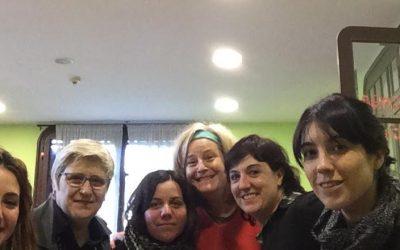 ACISFJ Saragossa ens visita per conèixer els itineraris individualitzats d'inserció laboral