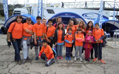 Sortida al Circuit de Montmeló amb els nois i noies de l'Espai Aprendre