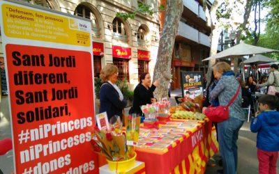 L'Associació invia vendrà roses solidàries el dia de Sant Jordi a la Rambla de Poblenou