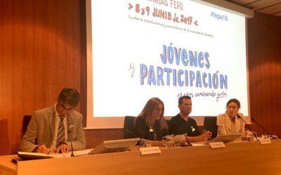 """""""in via"""" participa a les XIII Jornades FEPA Joves i Participació"""