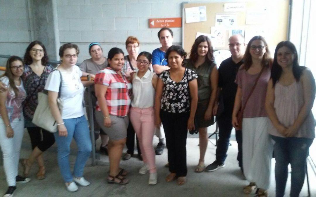 """Los participantes del programa """"Integrales"""" visitan Caltor"""