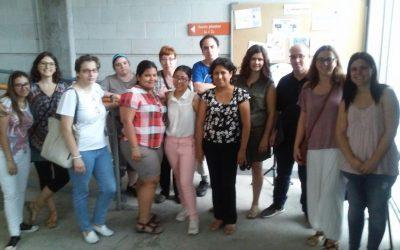 """Els participants del programa """"Integrals"""" visiten Caltor"""
