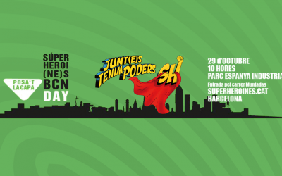 Participa en el repte #superheroinesBcn!