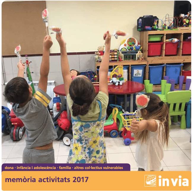 L'Associació invia va atendre 18.459 persones el 2017, un 8% més