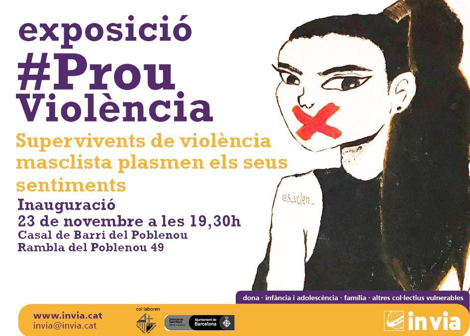 Supervivents de violència masclista exposen les seves obres d'art al Casal de Barri de Poblenou