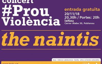 Vine al concert #ProuViolència i celebra amb nosaltres el nostre 65è aniversari