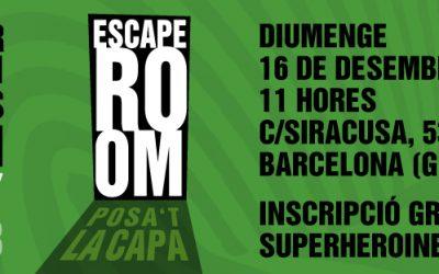Inscriu-te a l'Escape Room de les Superheroi(ne)s BCN!