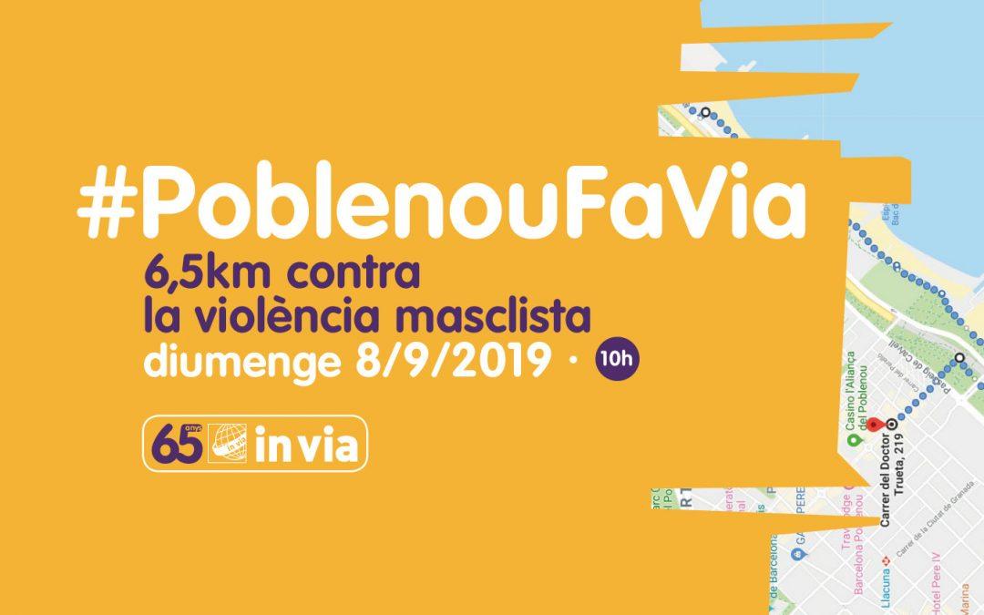 Apunta-t'ho a l'agenda: al setembre, caminada solidària #PoblenouFaVia