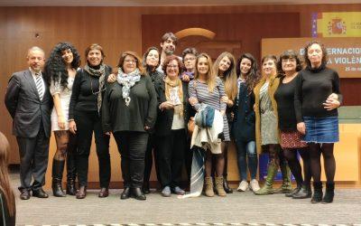 La Asociación invia recoge el #PremioMenina2019, que distingue a personas y entidades por su lucha contra la violencia de género